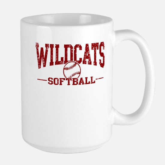 Wildcats Softball Large Mug