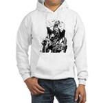 Nocturnals 23 gun double -sided Hooded Sweatshirt
