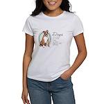 Dogs Make Lives Whole -Boxer Women's T-Shirt