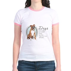 Dogs Make Lives Whole -Boxer T