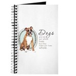 Dogs Make Lives Whole -Boxer Journal