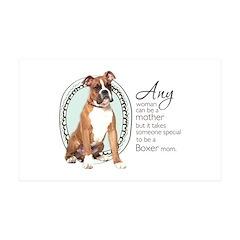 Boxer Mom 38.5 x 24.5 Wall Peel