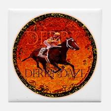Derby Daze - Kentucky Derby G Tile Coaster