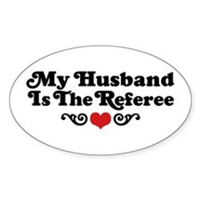 Referee's Wife Decal