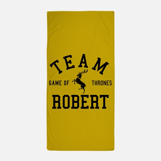 GOT Team Robert Beach Towel