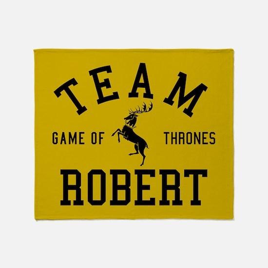 GOT Team Robert Throw Blanket