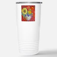 GARDEN FLOWERS Stainless Steel Travel Mug