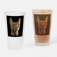 Egyptian Cats Drinking Glass