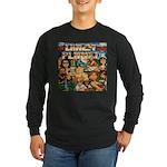 Crazy Planet Band Long Sleeve Black T-Shirt