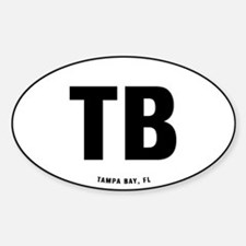 TB Sticker (Oval)