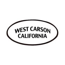 West Carson California Patches