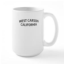West Carson California Mug