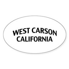 West Carson California Decal