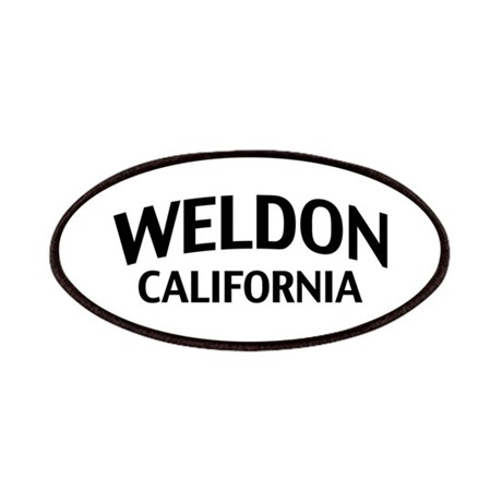 Weldon California Patches