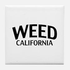 Weed California Tile Coaster