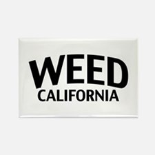 Weed California Rectangle Magnet