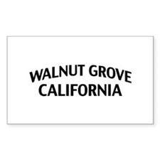 Walnut Grove California Decal