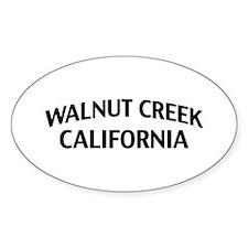 Walnut Creek California Decal