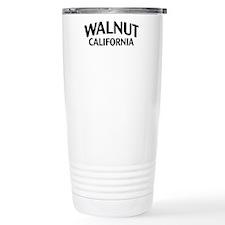Walnut California Travel Mug