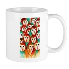 Crowded Owls ~ Mug