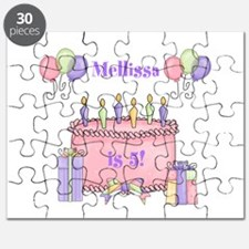 Personalized Birthday Girl Puzzle