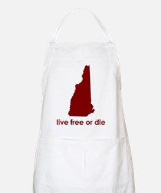 RED Live Free or Die Apron