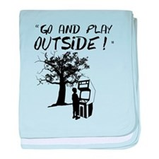 Go and Play Outside! baby blanket