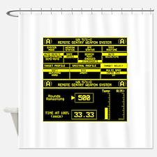 UA 571-C Remote Sentry System Shower Curtain