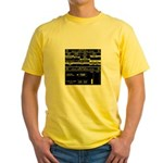 UA 571-C Remote Sentry System Yellow T-Shirt
