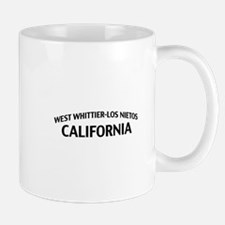 West Whittier-Los Nietos California Mug