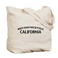 West Point-Wilseyville California Tote Bag