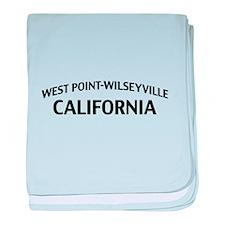 West Point-Wilseyville California baby blanket