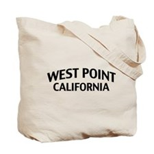West Point California Tote Bag