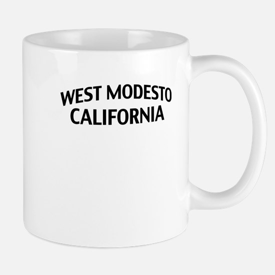 West Modesto California Mug