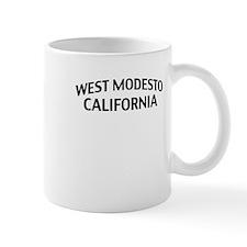 West Modesto California Mug