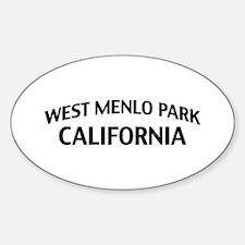 West Menlo Park California Decal