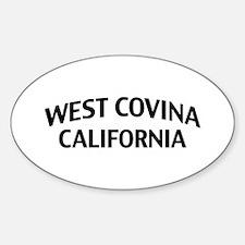 West Covina California Sticker (Oval)