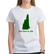 GREEN Live Free or Die Tee