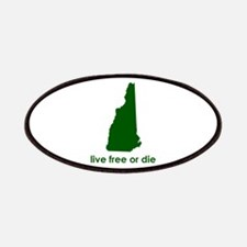 GREEN Live Free or Die Patches