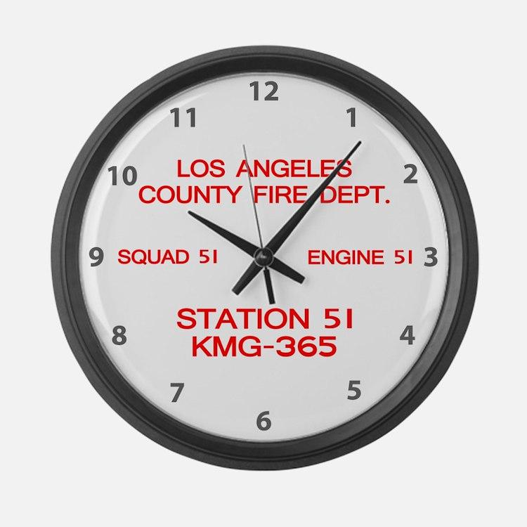 KMG-365 Squad 51 Large Wall Clock