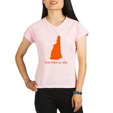 ORANGE Live Free or Die Performance Dry T-Shirt
