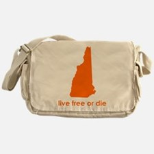 ORANGE Live Free or Die Messenger Bag