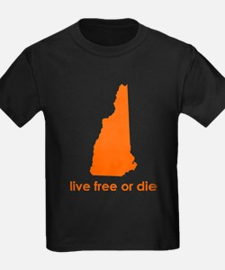 ORANGE Live Free or Die T