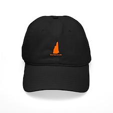 ORANGE Live Free or Die Baseball Hat