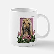 Mothers Day Pink Tulips Afghan Mug
