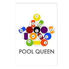 Pool Queen Postcards (Package of 8)
