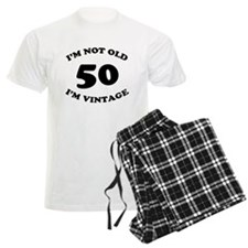 50th Funny Birthday pajamas