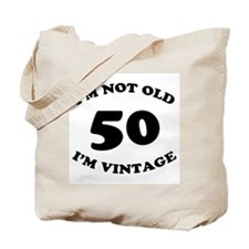 50th Funny Birthday Tote Bag