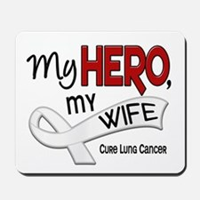 My Hero Lung Cancer Mousepad