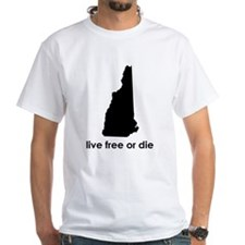 BLACK Live Free or Die Shirt